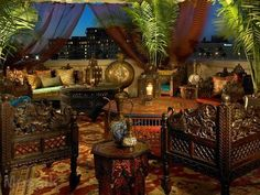 Moroccan Themed Oscar Party