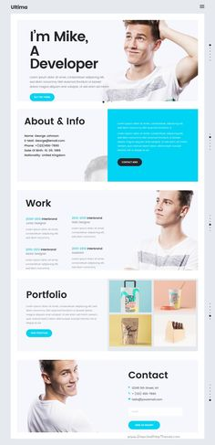 Ultima is beautifully design responsive #WordPress theme for perfect #resume #cv or #portfolio website with 24 unique homepage layouts download now➩ https://themeforest.net/item/ultima-a-multipurpose-wordpress-theme/18679752?ref=Datasata
