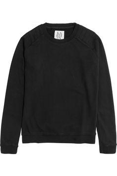 Zoe Karssen Cotton-blend jersey sweatshirt NET-A-PORTER.COM