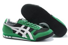 http://asicsoutletonline.us/ Onitsuka Tiger Ultimate 81 Green/Black Cheap $70