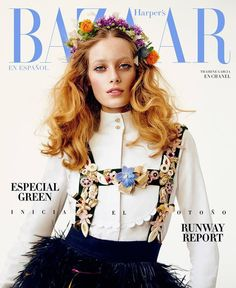 Thairine Garcia by David Schulze for Harper's Bazaar Mexico and Latin America August 2015 Cover - Chanel