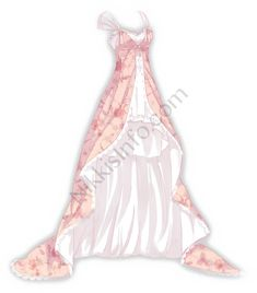 Pink version of the Fluttering Dance dress, a collision of mature gorgeousness and maiden fantasies. Anime Outfits, Cool Outfits, Casual Outfits, Fashion Design Drawings, Fashion Sketches, Mery Chrismas, Manga Clothes, Anime Dress, Dress Sketches