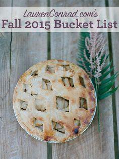 10 Things to Try This Fall | LaurenConrad.com