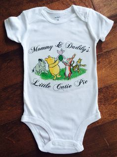 Hey, I found this really awesome Etsy listing at https://www.etsy.com/listing/258439940/classic-storybook-winnie-the-pooh-onesie