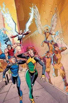The original Uncanny X-Men