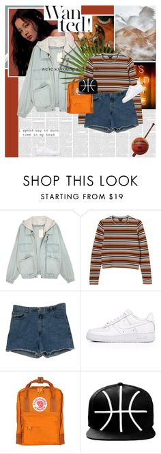 """My Star"" by e-laysian ❤ liked on Polyvore featuring Monki, Abercrombie & Fitch, NIKE, Fjällräven and Go Under"