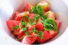 汁まで飲みほす美味しさ♡トマトと大葉のだしマリネ by Yuu | レシピサイト「Nadia | ナディア」プロの料理を無料で検索