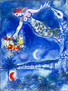 Image result for chagall blue