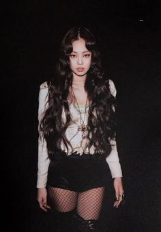 Jennie looks low key scary! Blackpink Jennie, My Little Beauty, Lisa Black Pink, Blackpink Photos, Blackpink Fashion, South Korean Girls, Girl Crushes, Kpop Girls, Divas