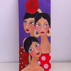 Shop for art on Etsy, the place to express your creativity through the buying and selling of handmade and vintage goods. Abstract Pencil Drawings, Art Drawings, Doll Painting, Painting & Drawing, Found Art, Naive Art, Whimsical Art, Portrait Art, Gouache