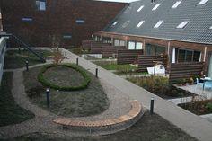 FalcoSinus bankelementen voor binnentuin in Haarlem