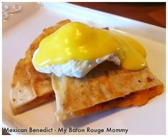 """Cookbook Test Recipe: """"New Mexican Eggs Benedict"""" via My Baton Rouge Mommy"""