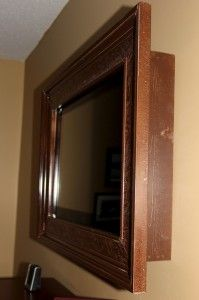 Frame Your Flat Screen Tv Don T Have A But If I