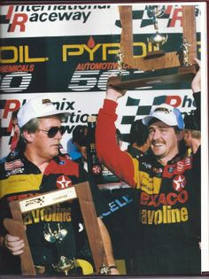 Throwback Thursday: Davey Allison Leaves Phoenix with Points Lead | Fan4Racing  http://fan4racing.com/2014/02/27/throwback-thursday-davey-allison-leaves-phoenix-with-points-lead/  Photo - 1992 Winston Cup Yearbook Cover
