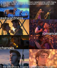 Tangled and Frozen Similarities. The bottom line is so true