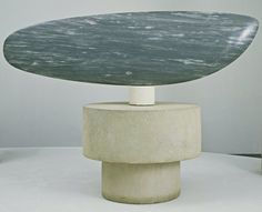 Fish  Constantin Brancusi (French, born Romania. 1876-1957)  Paris 1930. Blue-gray marble 21 x 71 x 5 1/2""