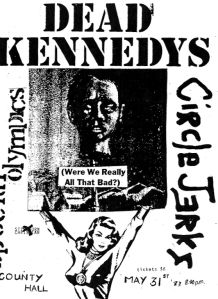 Posters Diy, Rock Posters, Music Posters, Music Flyer, Concert Flyer, Dead Kennedys, Punk Poster, New Flyer, Vintage Concert Posters
