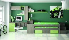 Dormitorios a todo color http://blog.primeriti.es/decoideas/decoideas-dormitorios-a-todo-color/