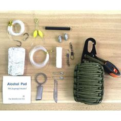 12 in 1 Paracord Survival Kit for Camping, Hiking, Hunting, Travelling