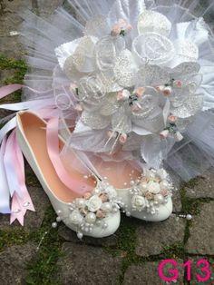 Ez Ayakkabı Diyarı #cicekli #sade #babet #gelin #ayakkabisi