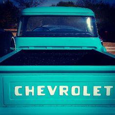 Chevrolet blue truck.  My dream<3