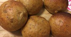 iHerbで購入した低糖質パンミックスと富澤商店のふすまパンミックスを合わせました。