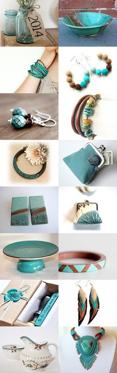 Turquoise and Brown by Linda Karen on Etsy--Pinned with TreasuryPin.com #turquoise #brown #jewelry #bracelet #homedecor #giftideas #giftforher #trendingjewelry #trendingbracelets #giftsforwomen #wrapbracelet #leatherwrap #leatherwrapbracelet #turquoisejewelry #turquoisebracelet #turquoisewrap #fashiontrends #trendygifts #trendyjewelry #trendybracelet #trendywrap