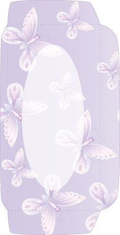>> Design Set 2 butterflies/flowers - envelope front