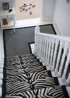 Alternative Flooring - Quirky Tess and Skinny Black http://www.elizabethmachinpr.com/alternative-flooring.html