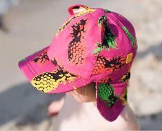 1e9ca1fe05f Little Hotdog Watson Childrens  Baseball Sun Hat With Neck Flap
