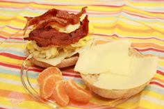 Bacon Breakfast Sandwich, First Street, Breakfast, Quick and Easy, Main Dish