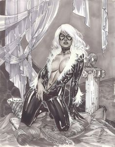 Black Cat by Eric Basaldua
