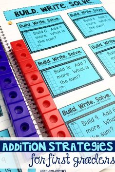 Addition Strategies for First Graders