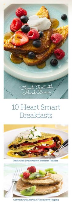 """Say """"Good Morning"""" to These 10 Heart Smart Breakfasts"""