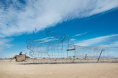 AfrikaBurn art and sculptures in Tankwa, South Africa - Jacki Bruniquel