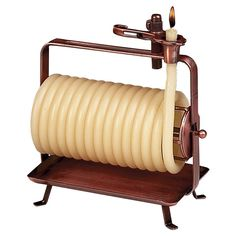 I have this on a side table in my living room  Candle By The Hour Beeswax Coil Candles