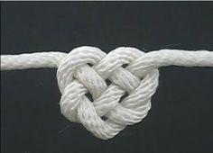 cute celtic heart knot diy via coolperfecthairstyle.blogspot.com