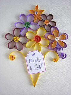 thanksbunch by Paper Zen / Cecelia Louie, via Flickr