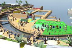 Marinetek to construct floating activity park in Gibraltar