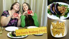 Gay Family Mukbang (먹방) - Eating Show