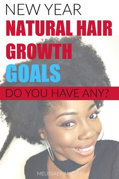 Do you have any goals for your natural hair this year? If not, you should. Here's how to set goals. #naturalhair