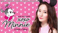 Kawaii Beauty Corner: Etude House x Disney XOXO Minnie Collection Released!