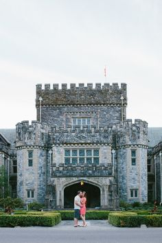 Engagement Photos at Hatley Castle Victoria BC Canada  www.meaghankonopaki.com
