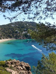Cala San Vicente at Ibiza