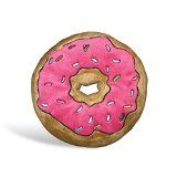 The Simpsons Kissen Donut  aus Velboa-Microvelour 100% Polyester.