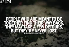 Never lost <3