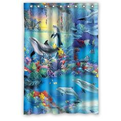 Custom Dolphin Waterproof Window Curtain Home Decoration ... https://www.amazon.com/dp/B00YDUQW8M/ref=cm_sw_r_pi_dp_mF4NxbQKBCZJ8