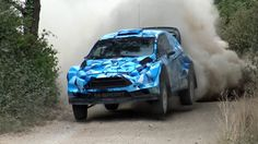 Ford Fiesta WRC 2017 First Test with Eric Camilli by Jaume Soler