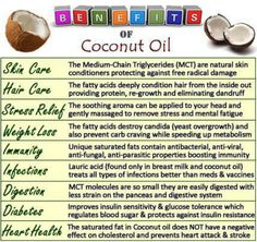 Coconut oil - love this!