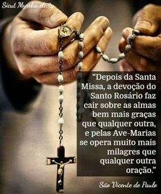 Holy Rosary, Mary And Jesus, Saint Quotes, One Wish, Catholic Quotes, Mother Mary, Roman Catholic, Sentences, Pray